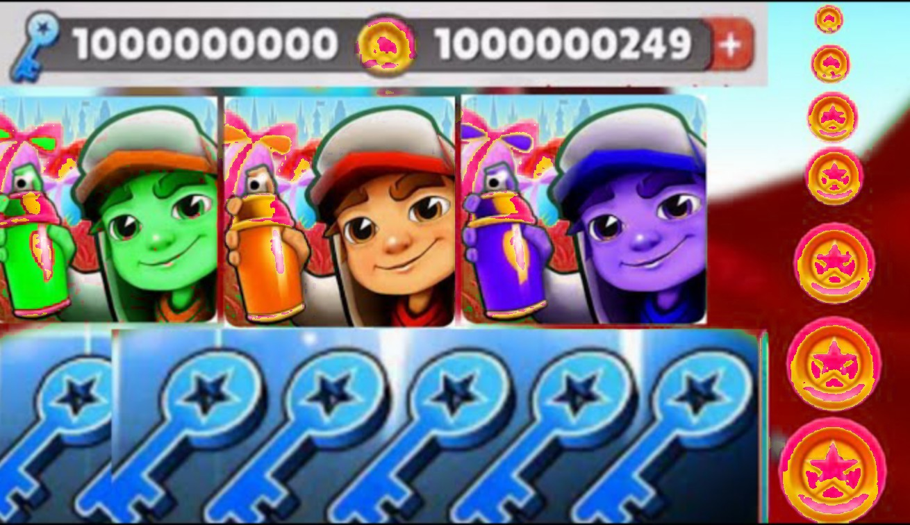 Get Free Keys and Coins in Subway Surfers (2020)