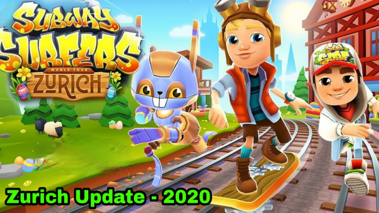 Subway Surfers Zurich 2020 Mod apk (Unlimited Keys and Coins & Everything)
