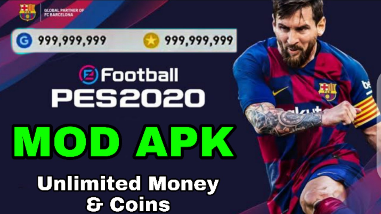 Download eFootball PES MOD apk 4.6.0 for android (Unlimited Money & Everything)