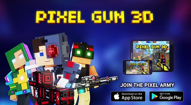 Pixel Gun 3D MOD APK Unlimited Coins and Gems 2021