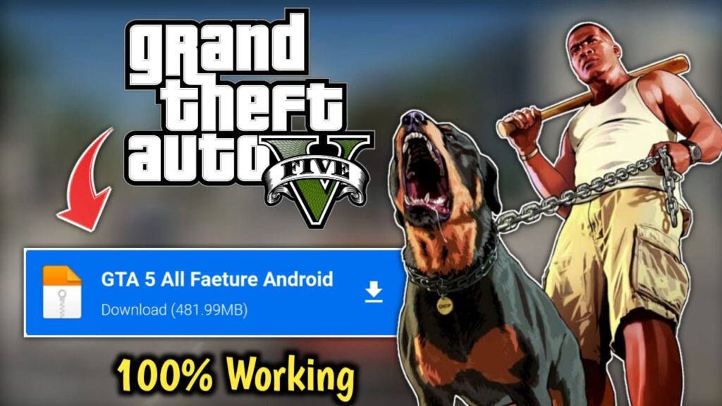 GTA 5 Download for Android Free Full Version 2021