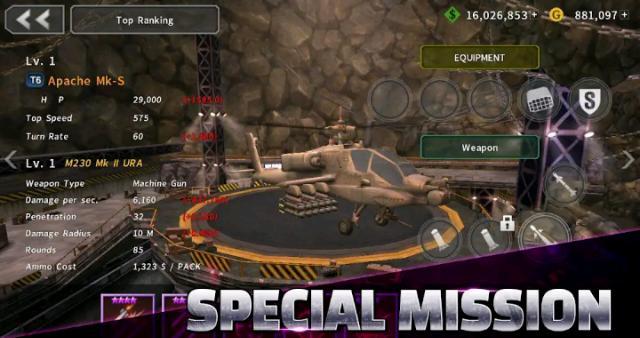 Download Gunship Battle MOD APK All Unlocked Latest Version